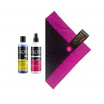 beGloss Perfect Shine Spray 100ml, Special Wash 100ml, Plus Polishing Cloth