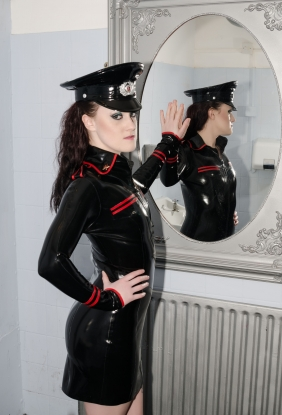 Military Dress - Latex clothing