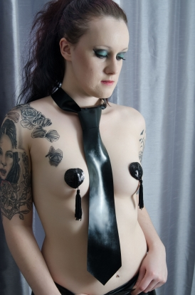 Regular Tie - Latex clothing