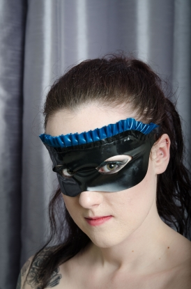 Frilled Mask - Latex clothing