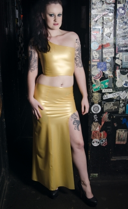 Anastasia Skirt - Latex clothing