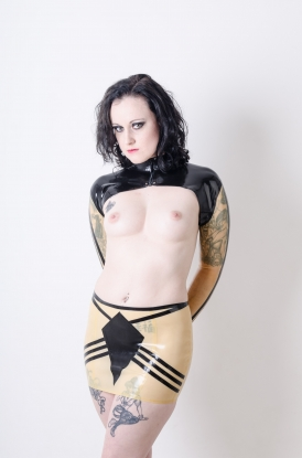 Krisia Clear Bolero - Latex clothing