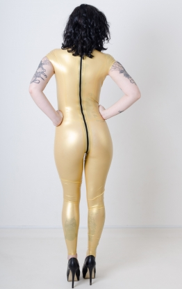 Liana Diamond Latex Catsuit - Latex clothing