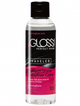 beGloss Perfect Shine Traveller 100ml - Latex clothing
