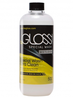 beGLOSS Special Wash WETLOOK 500ml - Latex clothing