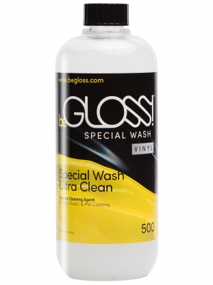 beGLOSS Special Wash VINYL 500ml - Latex clothing