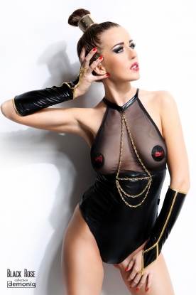 Demoniq Julie Body - Latex clothing