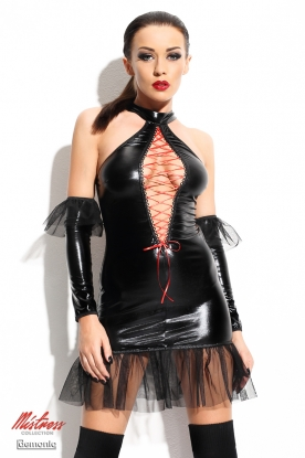 Demoniq Mistress Martha Dress - Latex clothing