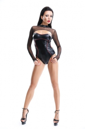 Demoniq Shibari Aimi Teddy - Latex clothing
