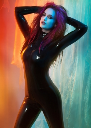 Latex Catsuit - Latex clothing