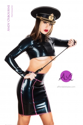 Carly Pencil Skirt - Latex clothing