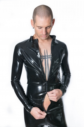 Male Latex Catsuit - Latex clothing
