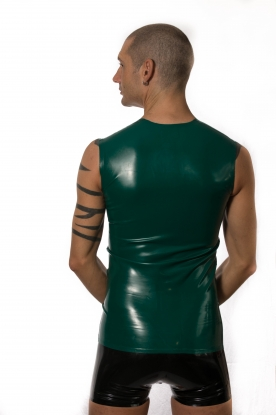 Sleeveless T Shirt - Latex clothing