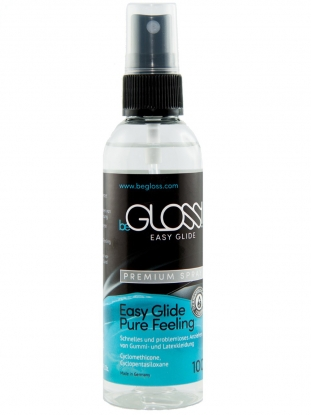 beGLOSS EASY GLIDE PREMIUM PUMP SPRAY 100ml - Latex clothing