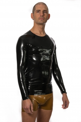 Dimo Long Sleeve T Shirt - Latex clothing