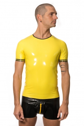 Stoyan T Shirt with Trim - Latex clothing