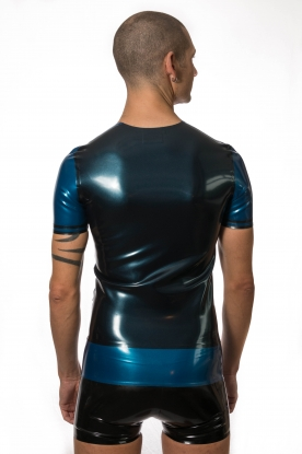 Todor 2 Colour T Shirt - Latex clothing