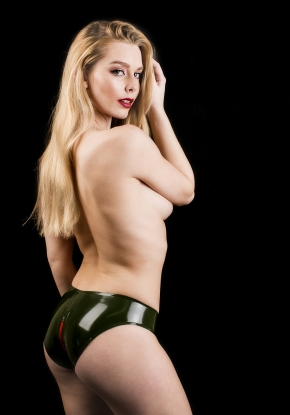 Tedi Zipped Knickers - Latex clothing