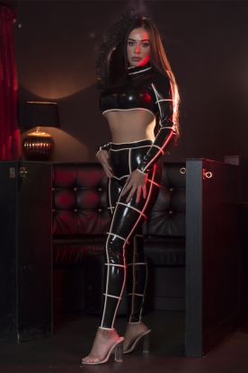 Cage Leggings - Latex clothing