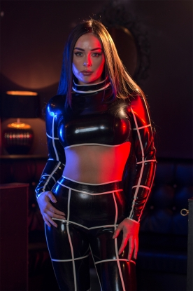 Convict Top - Latex clothing