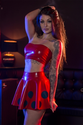 Lorena Skirt - Latex clothing