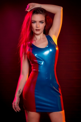 Ioana Dress  - Latex clothing
