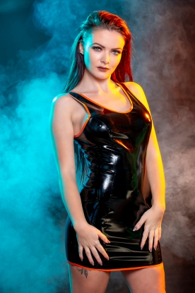Lavinia Dress  - Latex clothing