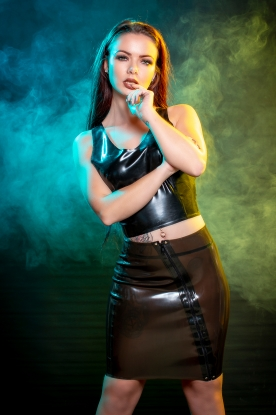 Dimana Skirt - Latex clothing