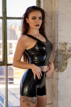 Valya Shorts - Latex clothing