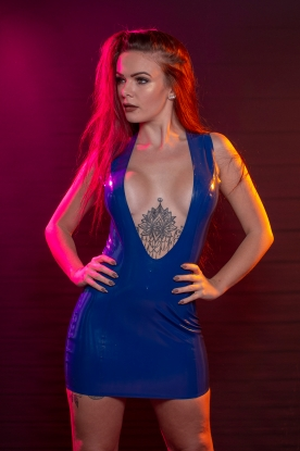 Miyoko Dress  - Latex clothing