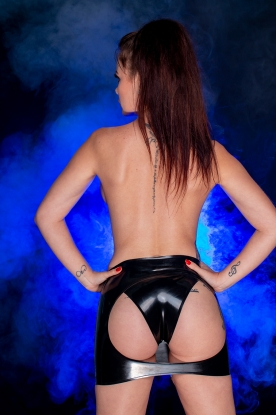 Marina Spanking Skirt  - Latex clothing
