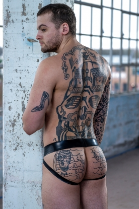 Twin Colour Jockstrap - Latex clothing