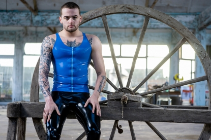 Andrei Zip Vest - Latex clothing