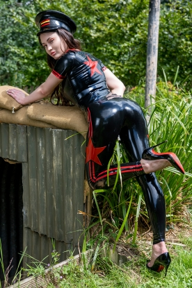Military Leggings  - Latex clothing