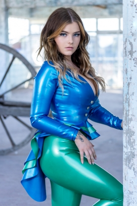 Taya Tailcoat  - Latex clothing