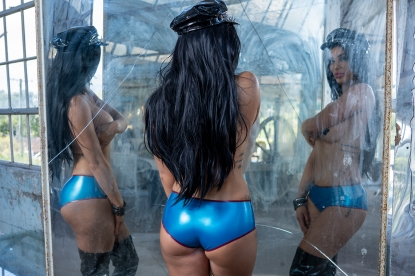 Bianca Knickers  - Latex clothing