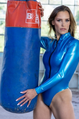 Alora Bodysuit  - Latex clothing